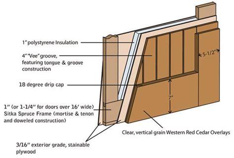 Exterior Wood Door Construction 17 Best Images About Garage Doors On Pinterest Traditional Garage Door Track And Garage Door