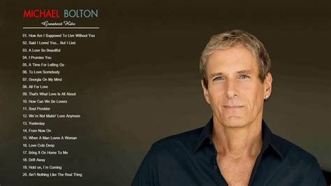 michael bolton the best of michael bolton greatest hits the best michael