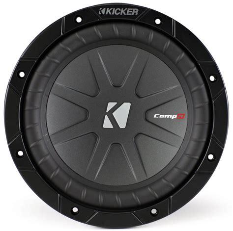 kicker car audio cwr8 compr 8 inch subwoofer speaker 800w peak 4 ohms dvc 40cwr84 limited