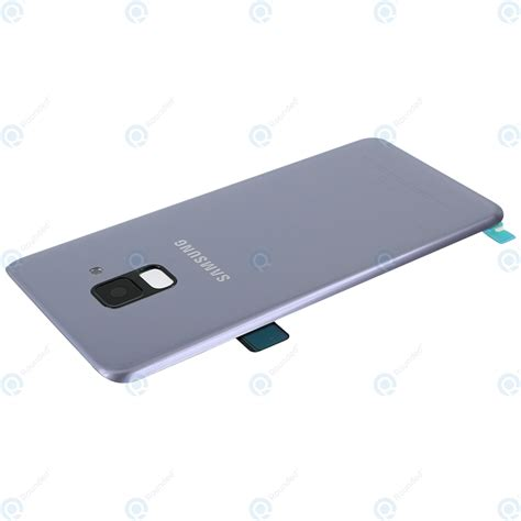 Samsung A8 2018 Orchid Gray samsung galaxy a8 2018 sm a530f battery cover orchid