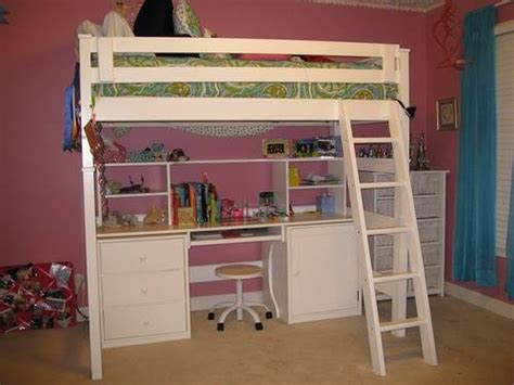 Bunk Bed With Desk Underneath For Sale This Is A Great Solid Wood Size Loft Bed With Desk Underneath For Sale Color Is Actually