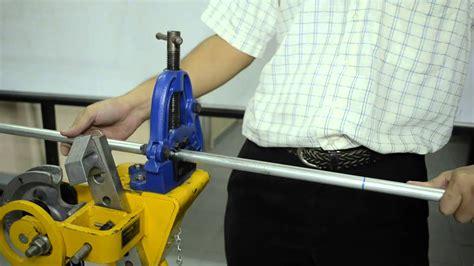 Pemotong Paip Pvc kaedah melentur konduit paip gi galvanised iron conduit