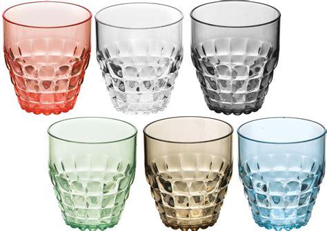 bicchieri guzzini guzzini set 6 bicchieri bassi tavola bicchieri