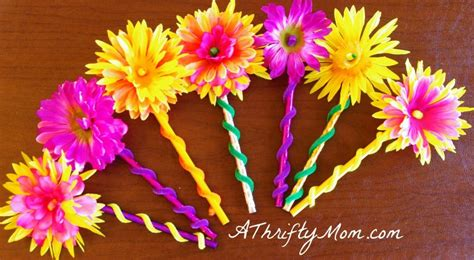 flowers crafts diy flower pencil money saving craft for a