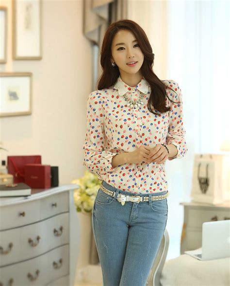 Baju Fashion Import Wanita Cewek Atasan Blouse Batik 3 kemeja cewek cantik terbaru