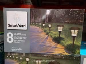 costco landscape lights smartyard led solar pathway lights