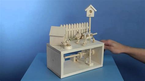 Toy Box Ideas The Unwelcome Dinner Guest Wooden Automata Project Youtube