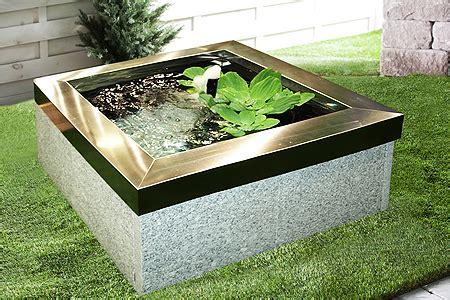 vasca laghetto vasca fontana da giardino quadrata