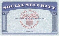 ssi card templates blank social security card template social security card