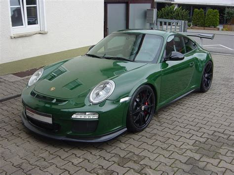 racing green spotlight racing green porsche 997 gt3 rs