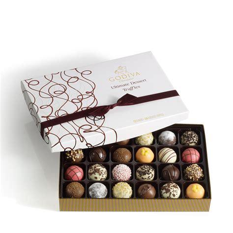 Godiva Gift Cards - 24 pc ultimate dessert truffles gift box godiva