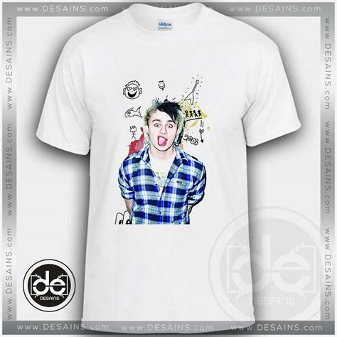 Band Tshirt Kaos 5sos This Michael Clifford buy tshirt 5sos michael clifford smile tshirt mens tshirt
