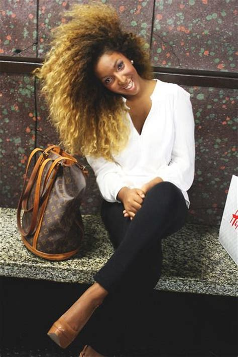 ombre hair afro 187 best images about black girls blonde hair on