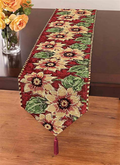 dining room table runners table runners home interior design