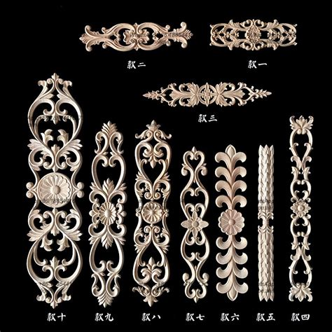 furniture parts wood carved onlays  appliques buy
