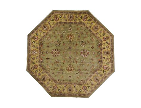 octagon rug 8 surya crowne 8 octagon green area rug sycrn6001oct