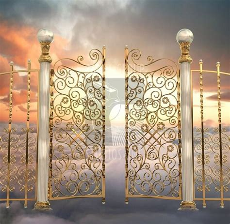 Pearly Gates Of Heaven Installation Of Light To Appear