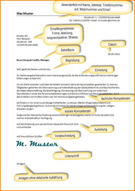 Initiativbewerbung Anschreiben Aufbau 10 Bewerbung Anschreiben Aufbau Questionnaire Templated
