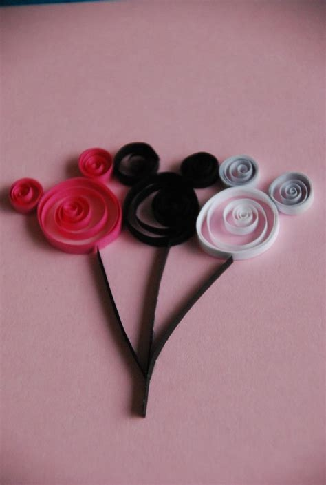 quilling mouse tutorial 179 best images about disney quilling on pinterest