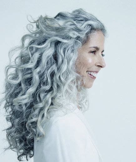 haircut for thick frizzy gray hair best 25 curly gray hair ideas on pinterest why grey