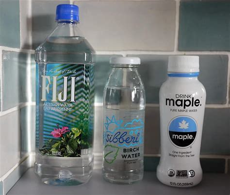 Water Sap are birch sap and maple water or fiji water healthy or faddy naturedoc