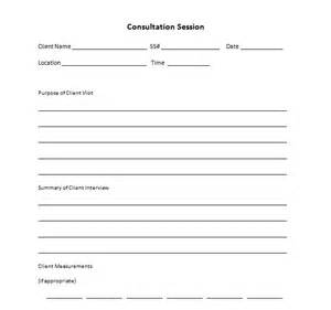 personal consultation template personal trainer forms free waivers and business