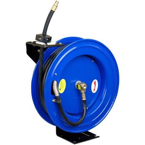 air hose reel auto rewind air compressor hose reeler