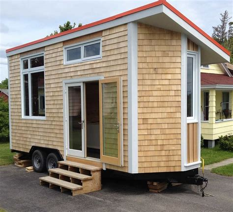 Tiny House On Wheels by Moon Tiny Shelters The Harmony Tiny House On Wheels