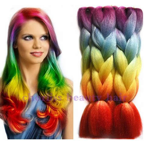 Kepang Jumbo Tenun ekspresi warna rambut promotion shop for promotional ekspresi warna rambut on aliexpress