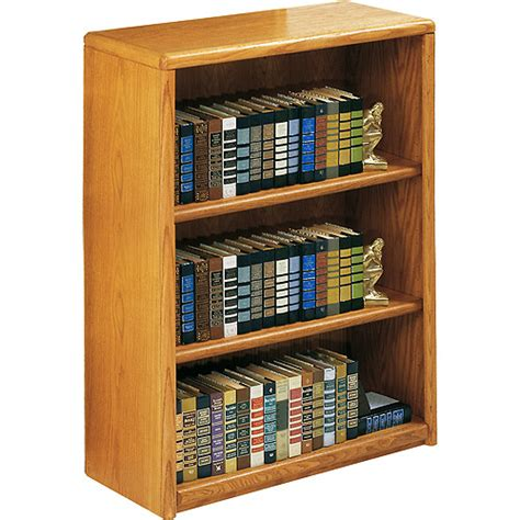 Walmart 3 Shelf Bookcase Classic Oak 3 Shelf Bookcase Medium Oak Walmart Com