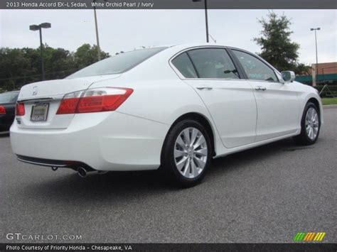 2013 honda accord ex l sedan in white orchid pearl photo no 71072014 gtcarlot