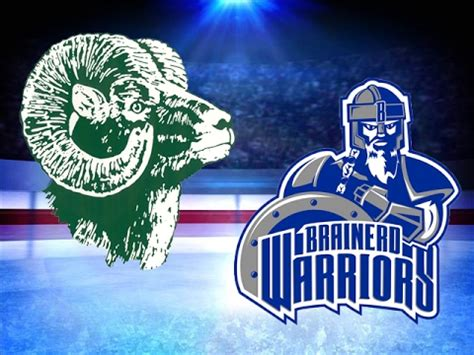 section 8aa hockey roseau and brainerd little falls girls hockey face off at