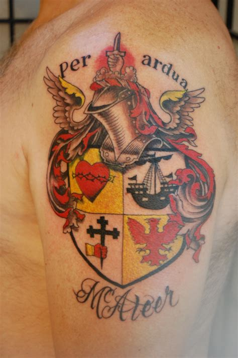 tattoo family crest family crest cobra custom tattoo