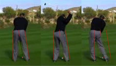 hip turn golf swing hip rotation during the back swing golf instruction
