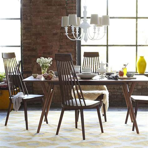 west elm dining room table mid century expandable dining table west elm