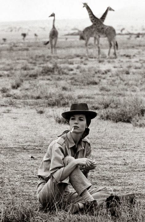 elsa martinelli hatari throwbackthursday hatari the 1962 flyga twiga