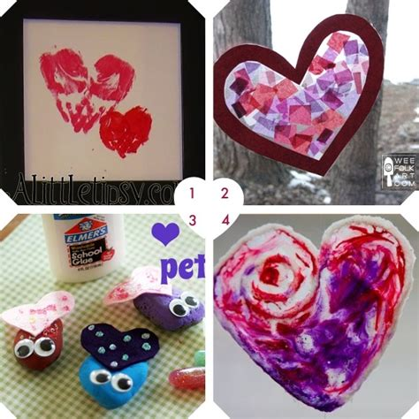 valentines day crafts for babies to school aged