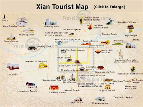 xian travel china attractions tours transportation maps