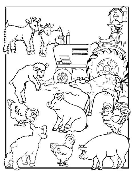 farm coloring pages farm coloring pages coloringpages1001