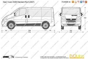 Vauxhall Vivaro Weight The Gallery For Gt Vauxhall Vivaro Dimensions