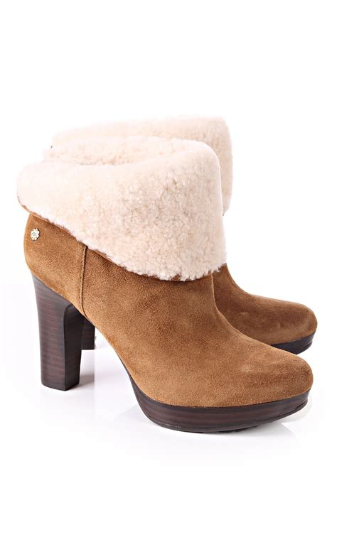 ugg australia dandylion womens ankle boots winter