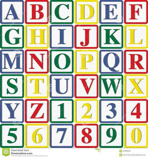 Letter Number In Alphabet baby block letters and numbers royalty free stock photos