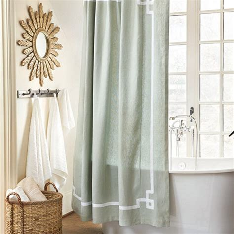 traditional shower curtains suzanne kasler greek key shower curtain traditional