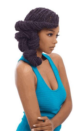 kanekalon brandy norwood afro braid short hairstyle 2013