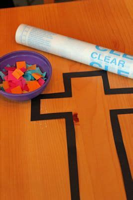 Crafts With Contact Paper - tissue paper trucks and crafts on