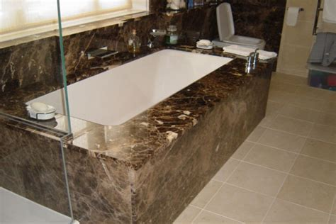 Jacuzzi Shower Bath using stone in your bathroom