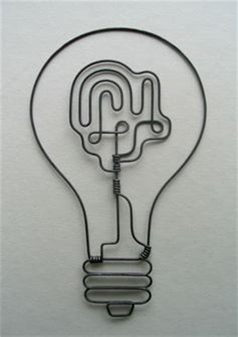 How To Make Light Bulb In Alchemy by 1000 Ideas About Wire Sculpture On Wire