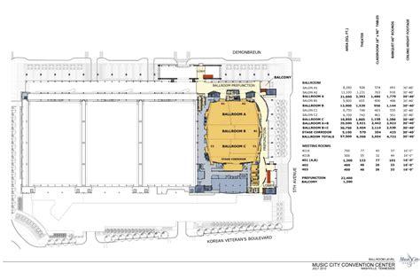 Music City Center Floor Plan | level 3m meeting rooms nashvillemusiccitycenter com
