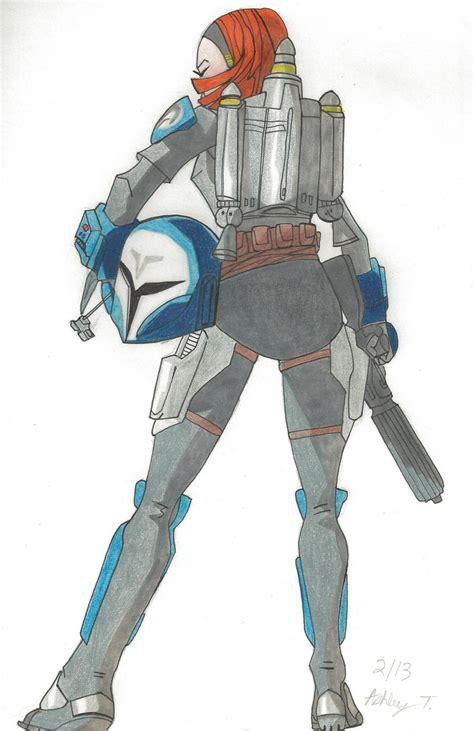 star wars bo katan bo katan colored by ashley tara on deviantart