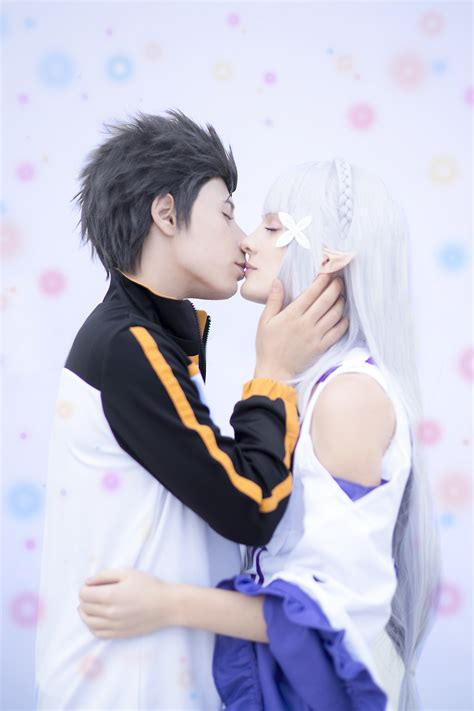 subaru and emilia married re zero subaru x emilia by smexy boy on deviantart